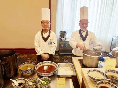 窝窝店包子 绵阳米粉作为特色美食服务第十三届全国人代会